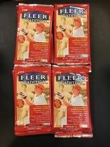 4 New Baseball Pac Ks 1999 Fleer Tradition Hobby Stan Musial Derek Jeter - $34.60