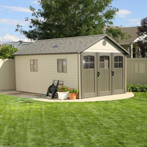 HUGE! Outdoor Garden Storage Shed 11 x 18 Ft Door Window Backyard Storag... - $3,708.49