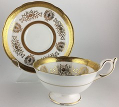 Coalport Lady Anne Cup & saucer ( scalloped ) - $50.00