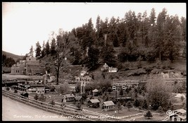 Tiny Town Real Photo Postcard Colorado Miniature Turkey Creek Canon CO RPPC - $24.50