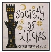 Society of Witches halloween The Stitcherhood - $7.20