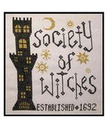 Society of Witches halloween The Stitcherhood - $7.20