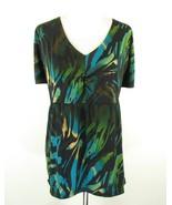 LANE BRYANT Plus Size 26W 28W Matte Jersey Knit Top - $18.99