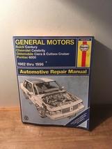 Haynes General Motors 1982-1996 Buick Century Pontiac 6000 Repair Manual - $14.84