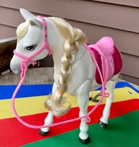 2016 Mattel Barbie Dream Horse Walking Dancing Singing Sounds Touch Activated  - $38.51