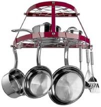 RETRO POT AND PAN ORGANIZER Hanging Rack Holder... - $52.06