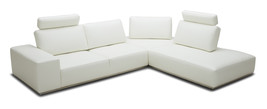 Divani Casa Martha Modern White Leather Sectional Sofa	 - $3,499.00