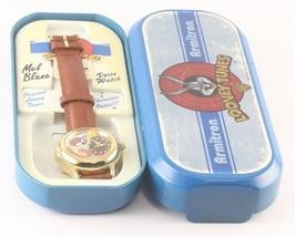 Armitron Taz Voice Wristwatch Looney Tunes Tazmanian Devil watch Mel Bla... - $47.77