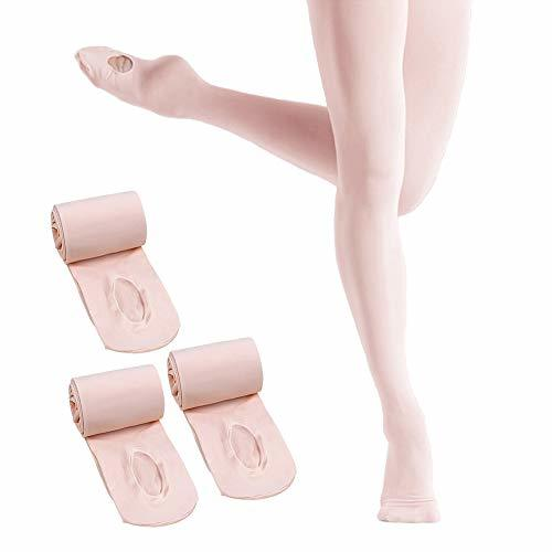 Ballet Pink Body Wrappers Adult Convertible Dance Tights Jazzy Tan Style A31