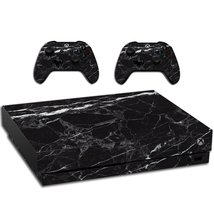 VWAQ Xbox One X Black Marble Skin | Vinyl Wrap Decal Cover Sticker Skins... - $14.99