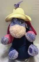 """NWT Disney Store Exclusive Garden Party 9"""" Eeyore Mini Bean Bag Plush Po... - $29.44"""