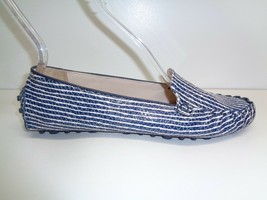 Cole Haan Size 8.5 CARY VENETIAN Blue Leather Moccasins Loafers New Wome... - $117.81