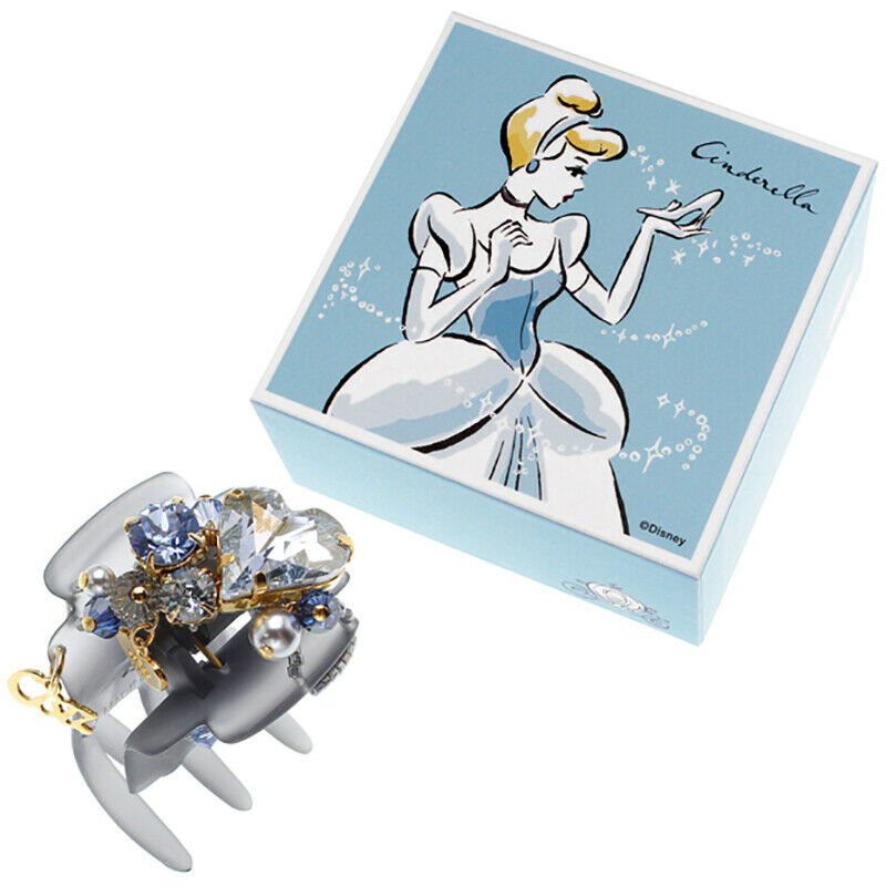 Primary image for Disney Store Japan Cinderella Swarovski Crystal Hair Clip Pin Complex Biz