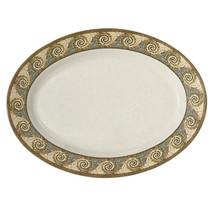 Mosaic 30 inch x 20.25 inch Oval Platter Melamine/Case of 6 - $727.88