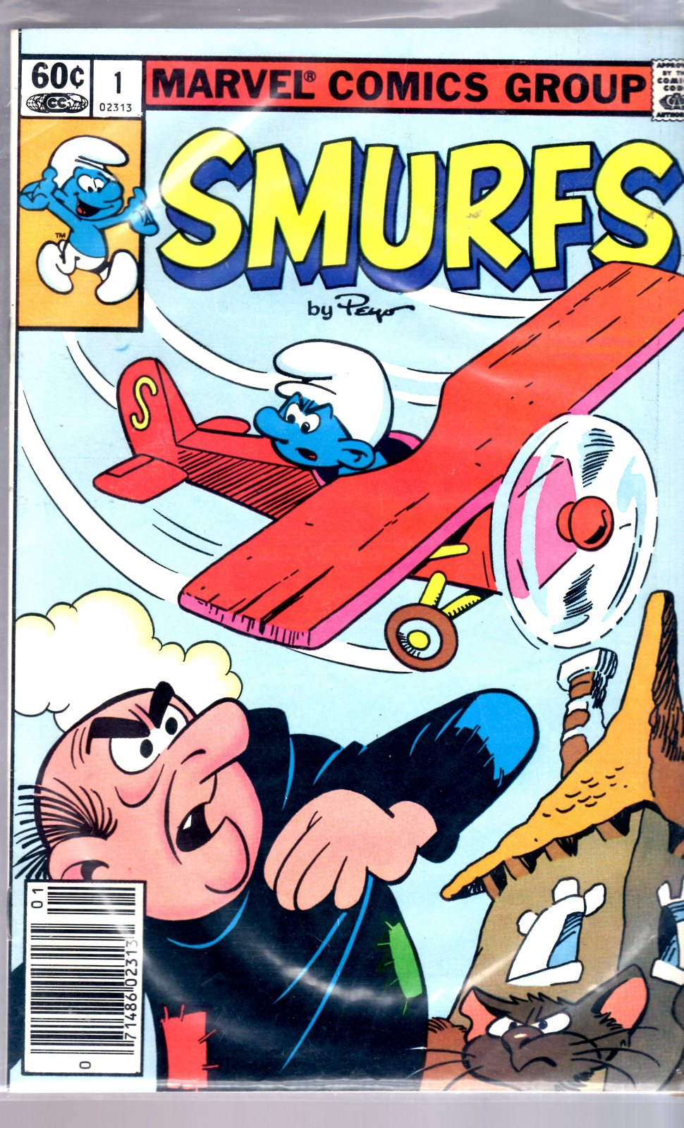 Marvel Comic book - Smurfs #1, 2, & 3 image 3