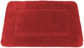 Rosso Morbido Cashmere-Feel Ciniglia Anti-scivolo Tappetino da Bagno Tap... - $22.24