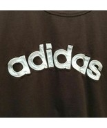 Adidas Vintage Spell Out Tee Mens Asian Size Medium Embroidered TShirt 3... - $17.99