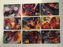 1994 Fleer Ultra X-MEN Complete Insert Card Set #1 - 9 NM/M Portrait Puzzle - $16.37