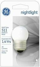GE Lighting 41267 7.5-Watt Nightlight, Soft White, S11 1CD Light Bulb - $6.92
