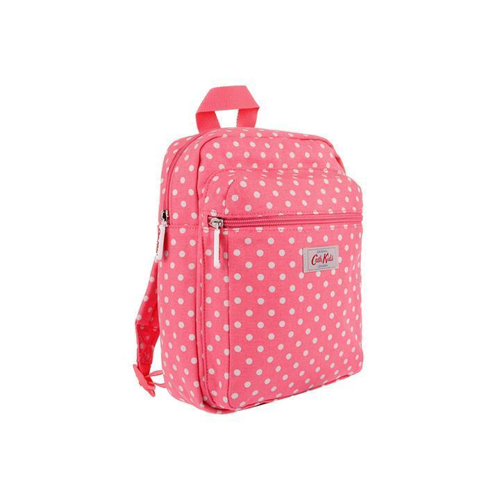 Cath Kidston Cath Kidston100Authentic KIDS MEDIUM RUCKSACK LITTLE SPOT PINK CK-K