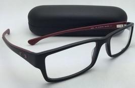 Nuevo Oakley Gafas Servo Ox 1066-0453 53-18 Negro & Brick-Red Armazón S