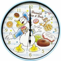 Disney Index Wall Clock Vol.2 Donald Chip & Dale Sweets Limited Japan - $48.61