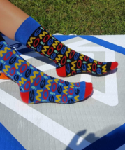 4LCK Oh My Got OMG colourful socks - $8.40
