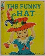 The Funny Hat by Marjorie Barrows Elf Book - $2.75
