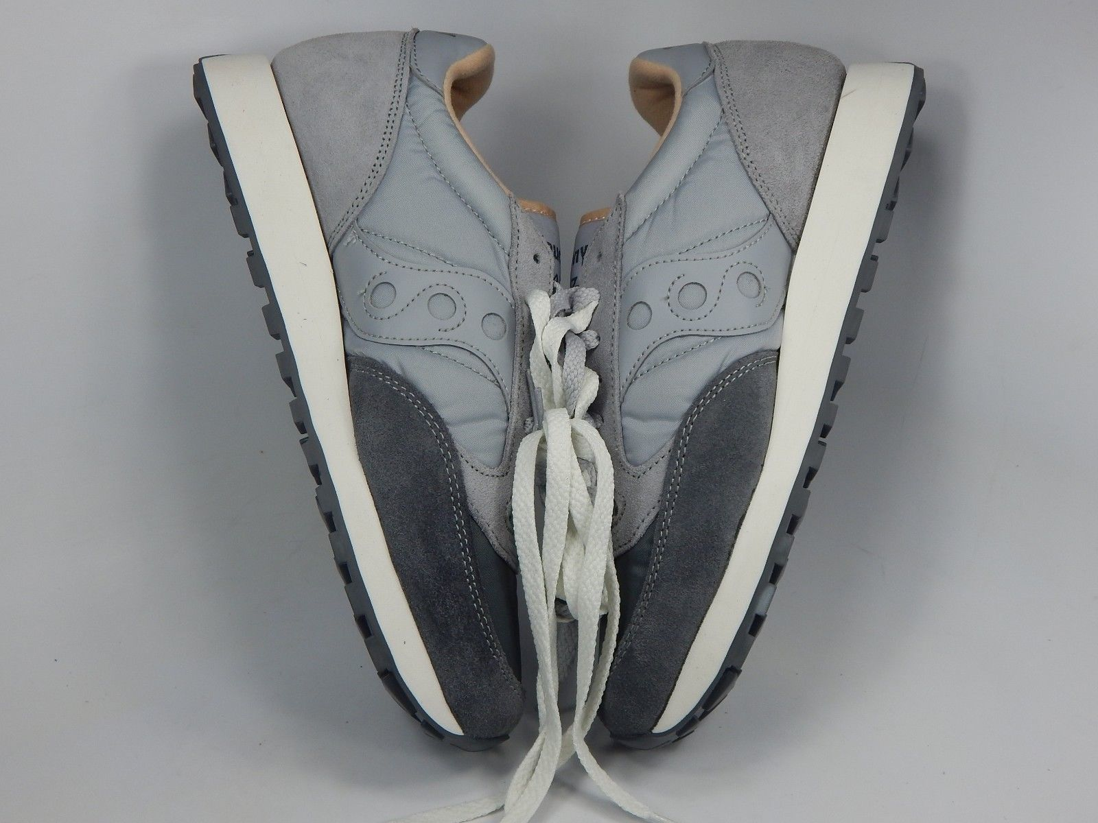 Saucony Jazz Original Running Shoes Men's Size US 9 M (D) EU 42.5 Grey S2044-409
