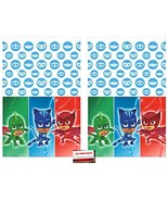 2 Pack - PJ Masks Party Plastic Table Cover 54 x 96 Inches (Plus Party P... - $18.80