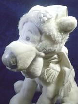 Snowflake Tigger Plush Kids Disney Silver White Stuffed Winnie Pooh Frie... - $23.74