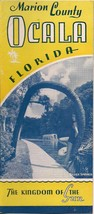 Vtg Early 1940s Ocala Florida Marion County 16 Pg Photo Brochure Kingdom... - $19.79