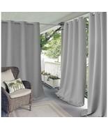 Elrene Curtain, Connor, Indoor/Outdoor Grommet Panel (52in X 84in)- 1 PA... - $16.63