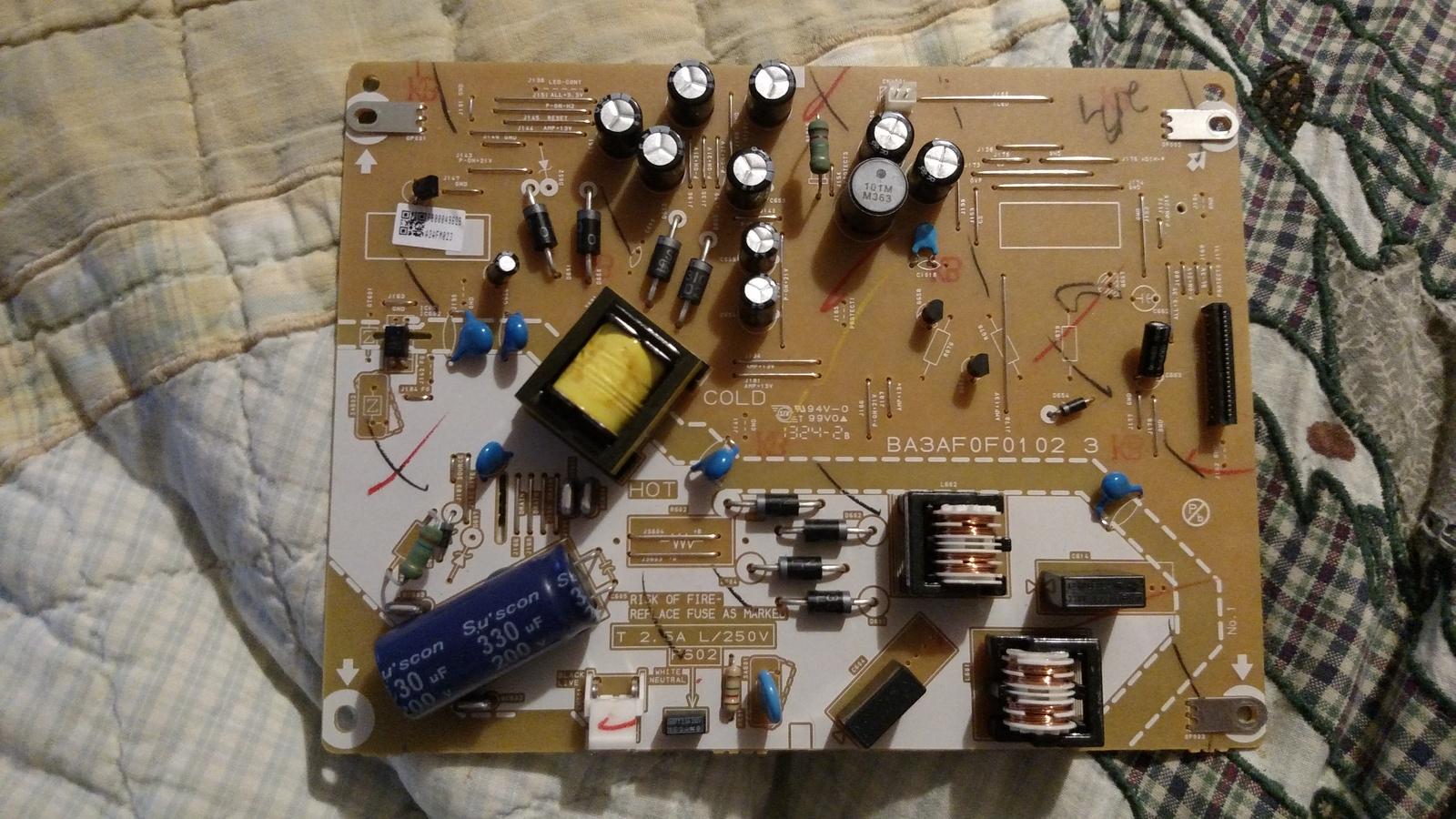 Funai Emerson Magnavox A3AFMMPW-001 Power and similar items