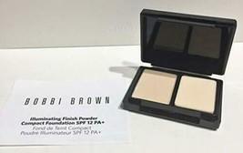 Bobbi Brown Illuminating Finish Powder Compact Foundation SPF 12 Warm Iv... - $7.36