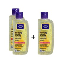 Clean & Clear Morning Energy Energizing Lemon Face Wash - 3 x 100ml. - $17.33