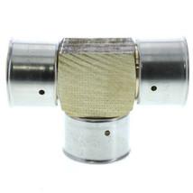 "Viega 94080 Zero Lead Bronze 1-1/2"" PEX Press Tee w/ Attached Sleeve - $30.00"