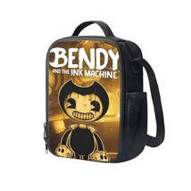Bendy and The Ink Machine Insulated Lunch Bag Set - $19.99
