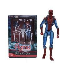 Avengers Figma 15cm Marvel Toys The Amazing Spiderman Action Figure Ulti... - $47.99