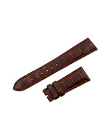 Patek Philippe 20-16mm Genuine Alligator Leather Shiny Brown Mens Watch ... - $479.00