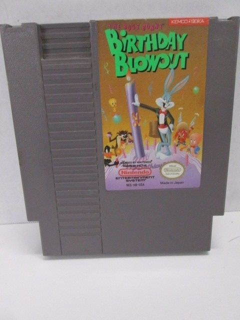 Nintendo NES Bugs Bunny Birthday Blowout