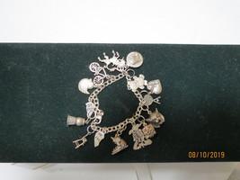 Sterling Silver charm bracelet image 2