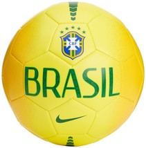 Brand New Official Nike Brazil FCB Prestige Soccer Ball SC2811 703 Size (5) Gold - $45.00