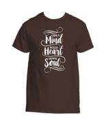 Open Mind Wild Heart Hippie Soul T-Shirt - £17.48 GBP