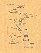 Swimmer's Fin Patent Print - $7.95+
