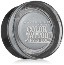 Maybelline New York Eye Studio Color Tattoo Metal 24 Hour Cream Gel Eyesha.. - $5.88