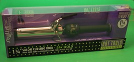 "HOT TOOLS SALON CURLING IRON /WAND 1 1/4"" - $35.64"