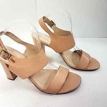 Cole Haan size 10 B Womens Block Sandal Open Toe Strap Heels - $24.95