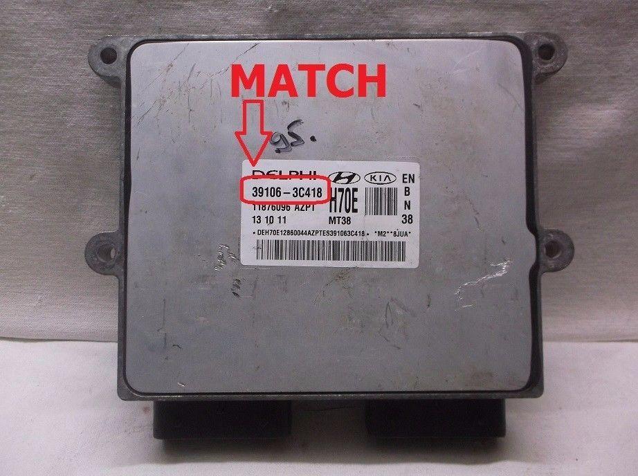 06-07-08-09 Kia Sedona Engine Control Module  Computer  Ecu  Ecm  Pcm