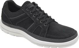 Rockport Get Your Kicks Mudguard Sneaker (Men's) - New Black Textile - NEW - $131.20